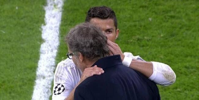 Ce qu'a dit Cristiano Ronaldo à Laurent Blanc ? Confidentiel...