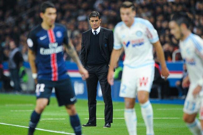 La petite vengeance du coach de l'OM contre le PSG