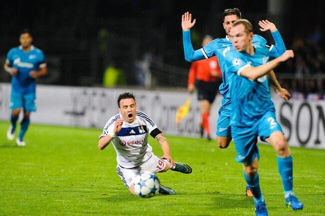 Valbuena n'est pas tendre après la défaite de l'OL