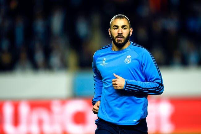 Benzema libéré et déjà arrivé à Madrid