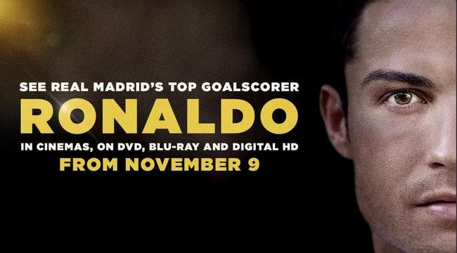 «Ronaldo» le film, Cristiano Ronaldo donne un aperçu