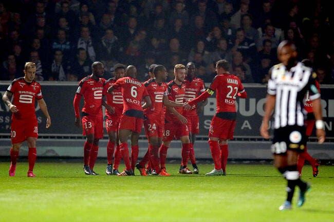 Rennes relève la tête à Angers