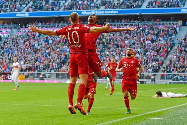 Bayern Munich - Stuttgart : 4-0