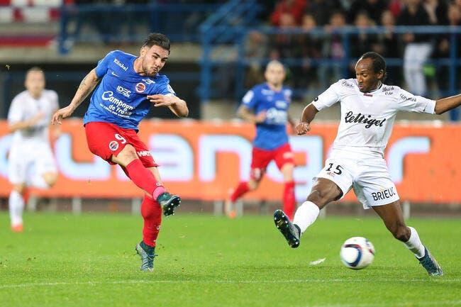 Caen reprend sa place, Lorient grimpe
