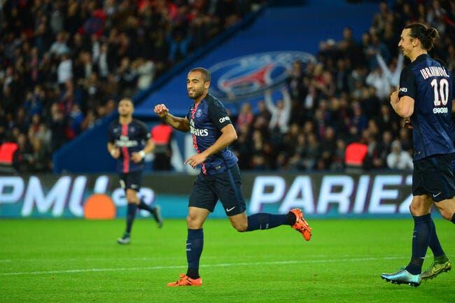 Lucas lance un pari insensé au PSG