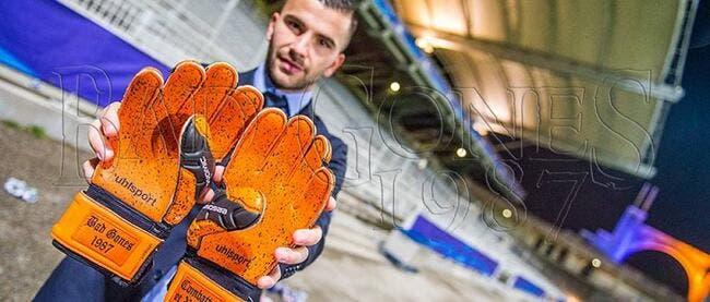Anthony Lopes aura des gants Bad Gones contre l'ASSE