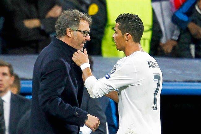 Benitez imite Cristiano Ronaldo pour ne pas parler du PSG