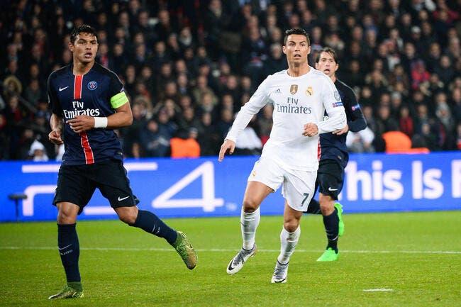 Cristiano Ronaldo au PSG, Thiago Silva y croit très fort