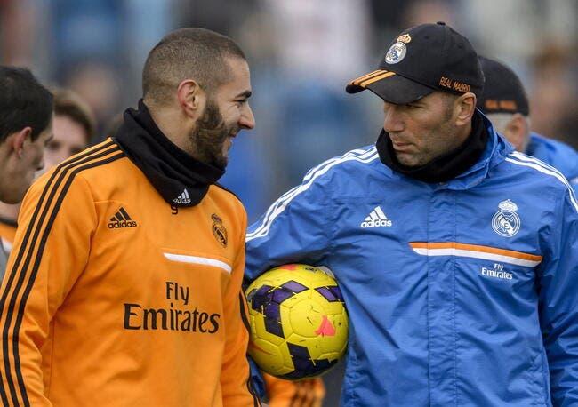Zidane apporte un soutien total à Benzema
