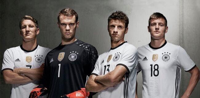 Photo : La Mannschaft aussi sort son maillot pour l'Euro
