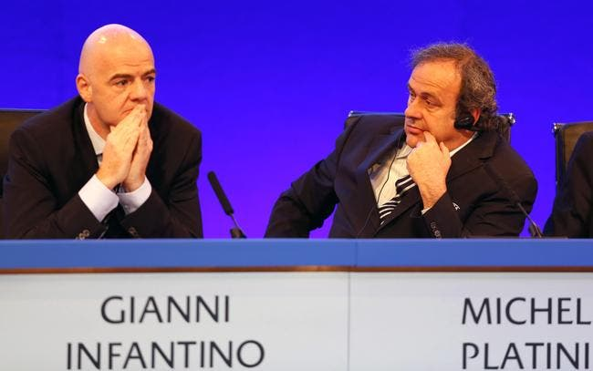 Infantino jure de ne pas avoir trahi honteusement Platini