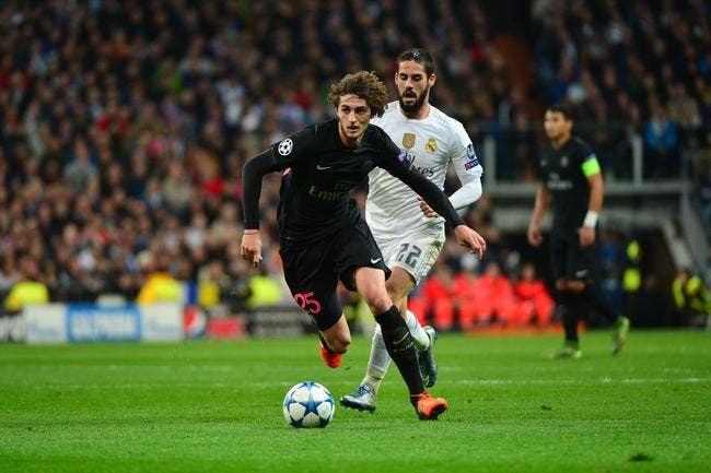 Motta, Verratti, Matuidi… Rabiot a surpris le Real Madrid