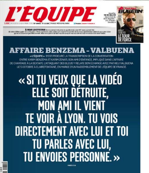 Sextape de Valbuena : De nouvelles révélations qui visent Benzema !