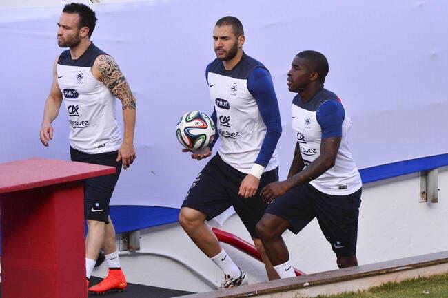Benzema et Valbuena ont discuté sextape… sur le terrain
