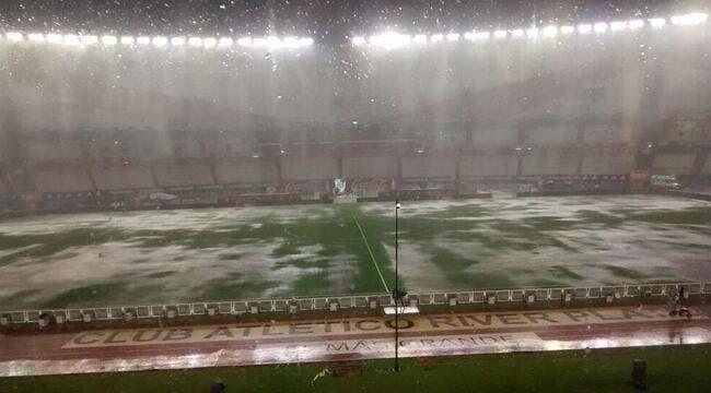 Photo : Un déluge monumental sur Argentine-Brésil