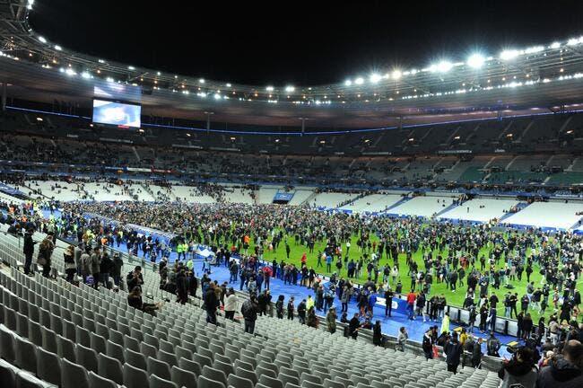 Attentats à l'extérieur du Stade de France et dans Paris