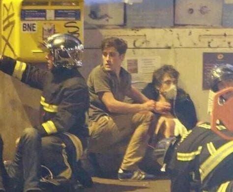 Un joueur de Crystal Palace héroïque pendant les attentats