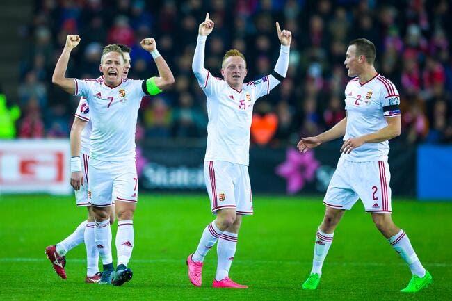 La Hongrie fait le travail contre la Norvège et sera à l'Euro !