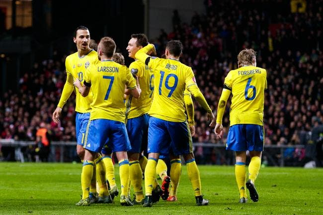 Ibrahimovic envoie la Suède à l'Euro !