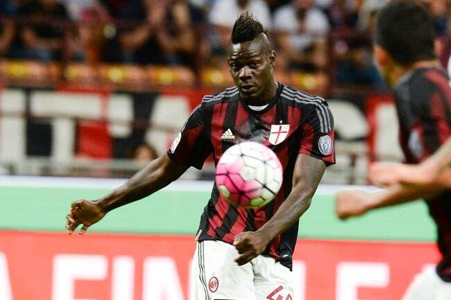Balotelli opéré et out plusieurs semaines annonce Milan