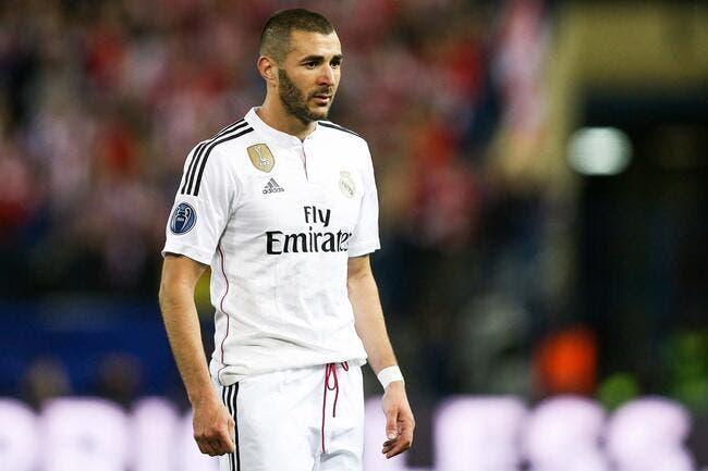 Benzema n'est pas encore indésirable au Real Madrid