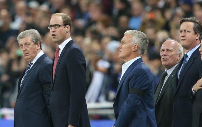 Deschamps très ému par l'accueil de Wembley et de l'Angleterre