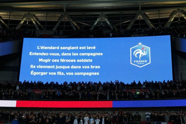 Enorme audience pour la Marseillaise, moins pour le match sur TF1