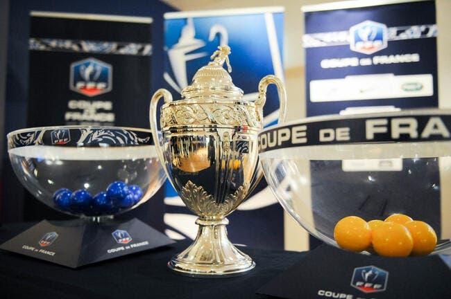 Vidéo live : Le tirage du 8e tour de Coupe de France à 12h