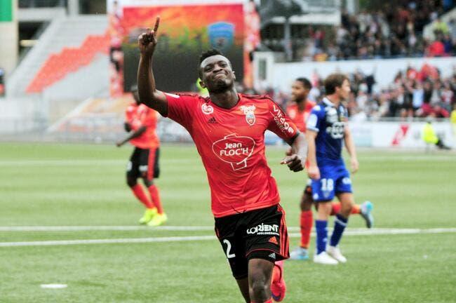 Lorient-PSG, Moukandjo refuse de devenir le rival d'Ibrahimovic