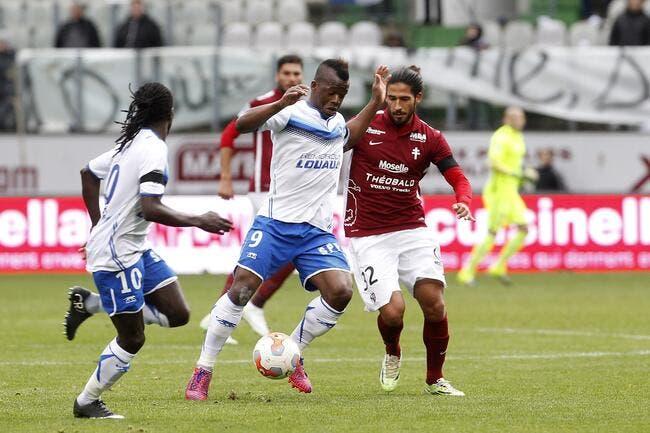 Metz - Auxerre : 0-1