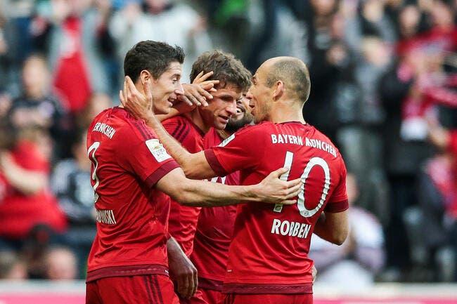 Schalke 04 - Bayern Munich : 1-3