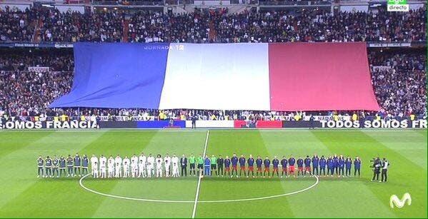 Vidéo : La poignante Marseillaise avant le Clasico Real-Barça