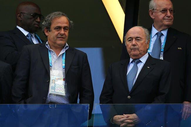 Platini est honnête, foi de Sepp Blatter