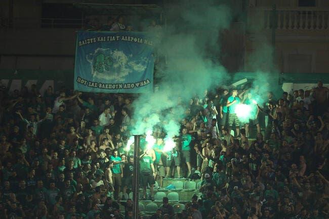 Les scènes déplorables de Pananthinaïkos - Olympiakos