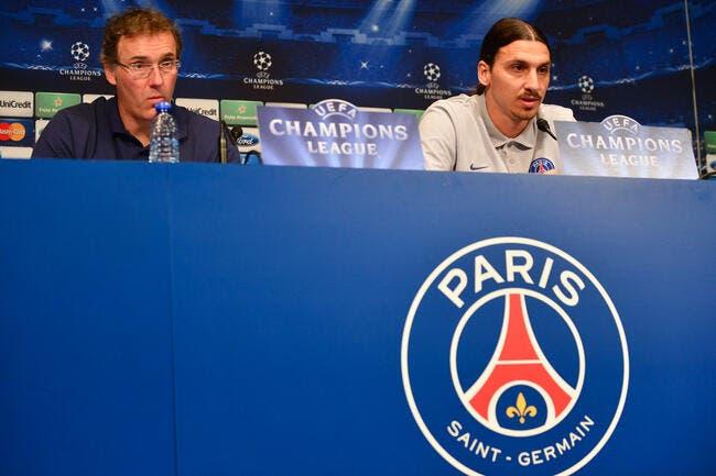 Laurent Blanc craint le trop-plein d'émotions pour Ibra et le PSG