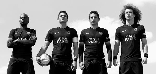Le maillot «Je suis Paris» du PSG vendu pour aider les victimes des attentats ?