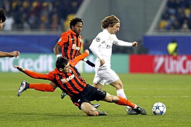 Shakhtar Donetsk - Real Madrid : 3-4