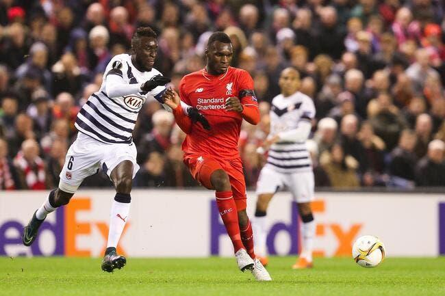 Bordeaux sort de l'Europa League à Liverpool