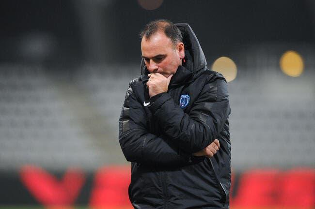 Le Paris FC vire son coach