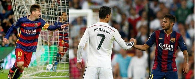 Ballon d'Or 2015 : Messi, Neymar et Cristiano Ronaldo en finale !