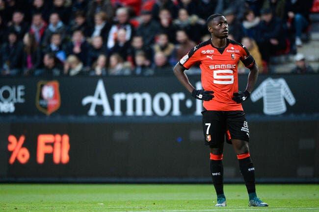 Ntep forfait avec Rennes «plusieurs semaines»