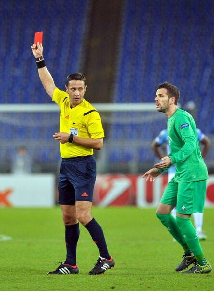 La phrase choc de l'ASSE sur l'arbitre d'Europa League