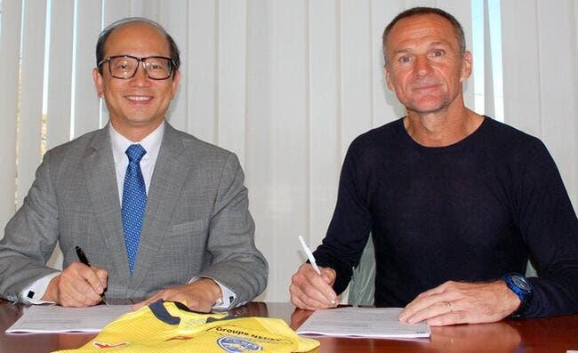 Albert Cartier nommé entraîneur du FC Sochaux