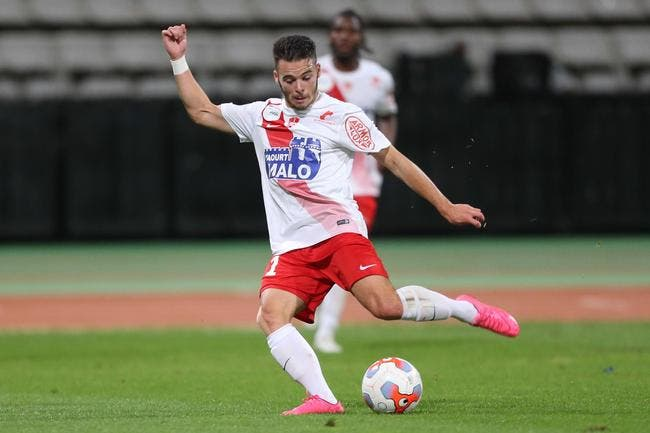 Brest - Metz : 1-1
