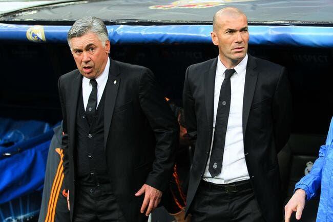 Cristiano Ronaldo n'est pas le seul chouchou d'Ancelotti