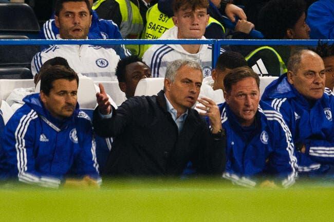 Chelsea met un gros coup de pression sur Mourinho