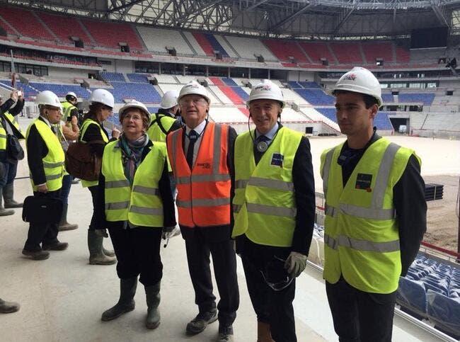 Le Grand Stade de l'OL, Aulas plante le décor !