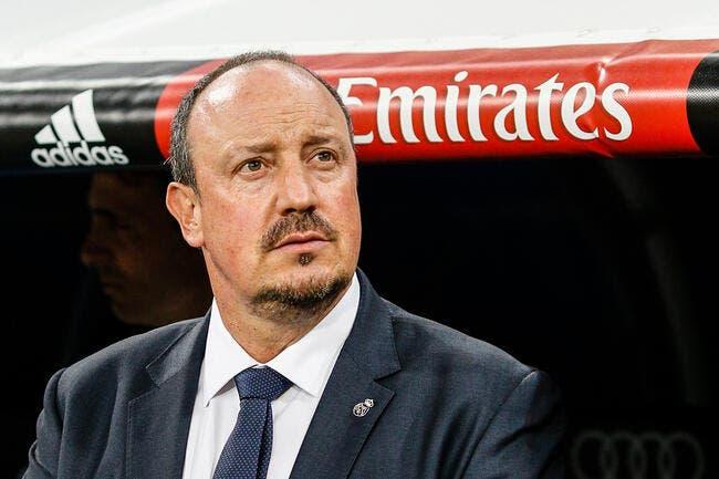 Le PSG décidera de l'avenir de Benitez au Real Madrid