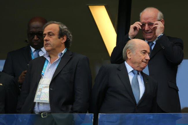 Blatter et Platini suspendus 90 jours !