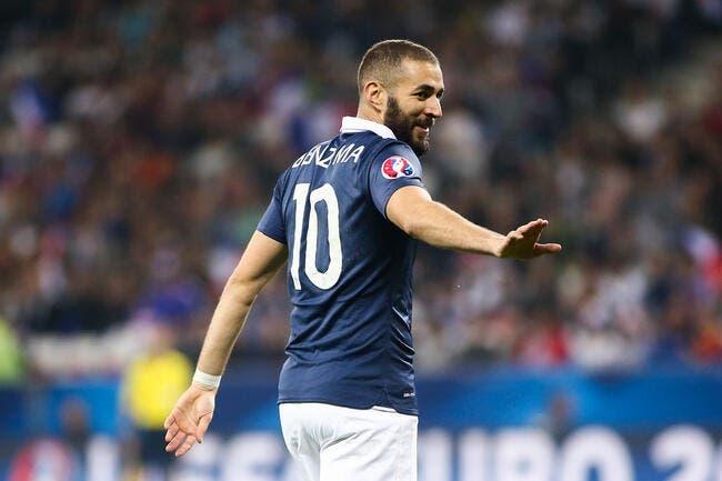 Benzema blessé et forfait pour Danemark-France